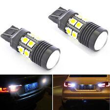 2x Super White 25W High Power CREE 12-SMD LED Backup Reverse Light T20 7440 7443