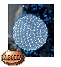 Sfera di Natale Ø 26 cm con 300 Fiorellini a LED da ESTERNO a Luce FREDDA Luci