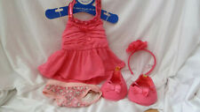 build a bear outfit pink dress hello kitty pants shoes and head band