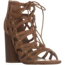 GUESS Synthetic High (3 to 4 1/4) Heel Height Sandals for Women