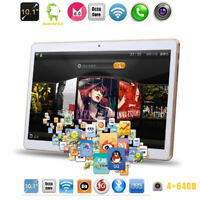 10.1'' HD Game Tablet Computer PC 10 Core Android 8.0 GPS 3G Wifi Dual Camera EU