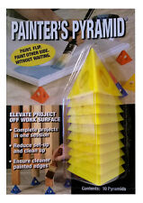 New Painter's Pyramid Stands 10 Pack in Yellow Elevate work off floor no waiting