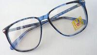 See You Herren Brille Brillengestell Brillenfassung Neu 70er große Gläser Gr.M