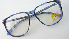 See You Herren Brille Brillengestell Brillenfassung Neu 70er große Gläser size M