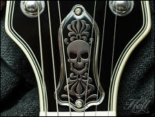 """Bonehead"" Diecast 2-HoleTruss Rod Cover. Fits most Gibson Les Paul, SG More."