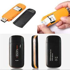 HSDPA USB STICK SIM Modem 7.2MBPS 3G Wireless USB Dongle TF Card Adapter Win 7 8