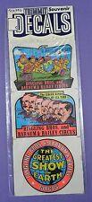 Ringling Bros. & Barnum & Bailey Circus Decals - Original 1950s Mint in Pack - B