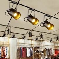 Ceiling Led Spot Light Lamp Industrial Lamp Retro Rail Spot Light Luminaire