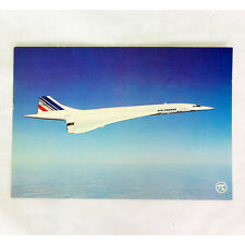 Aire Francia - Concorde - FBVFA - Avión Tarjeta postal - Bueno Calidad
