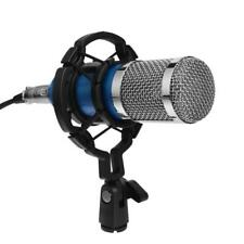 BM800 Dynamic Condenser Microphone Sound Studio KTV Singing Recording w/ Mount