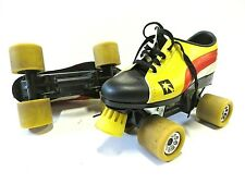 1970s Vtg Multi-Colored Roller Skated All Man Made Materials Size 7 Made in Usa