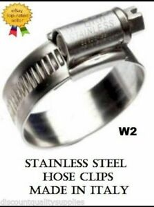 Stainless Steel Hose Clips 9mm Band Jubilee Type