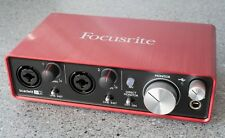 Focusrite Scarlett 2i2  2nd Generation 2-in/2-out USB Audio Interface