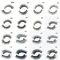 Real 3D Mink Soft Long Natural Eye Lashes Thick False Eyelash Extension Makeup