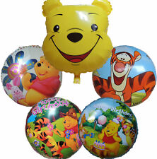 5PCES WINNIE THE POOH TIGGER PIGLET BALLOON BIRTHDAY PARTY BAG GIFT DECO FAVOR