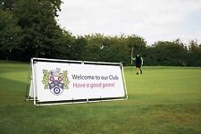 Outdoor Banner Frame - 3000x1250mm - Only £115. - To hold Printed PVC Banners