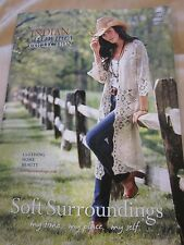 SOFT SURROUNDINGS CATALOG 2015 INDIAN SUMMER COLLECTION CLOTHING HOME BRAND NEW