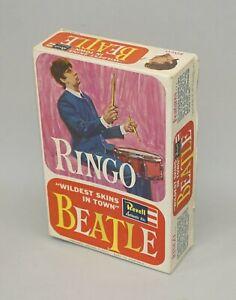 ORIGINAL 1964 REVELL THE BEATLES RINGO STARR MODEL KIT EMPTY DISPLAY BOX