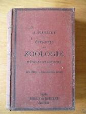 A. Raillet, Éléments de zoologie médicale et agricole