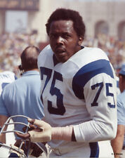DEACON JONES 1970 LA LOS ANGELES RAMS 8X10 PHOTO