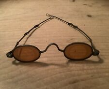 Civil War Era Sniper Spectacles With Amber Lenses And Pull Out Temples