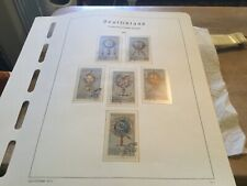 East Germany Used Stamp Set Circ 1972