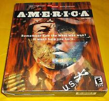 A*M*E*R*I*C*A - AMERICA Pc Versione Americana 1ª Edizione Big Box ○○○○○ COMPLETO