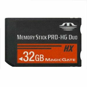 For Sony PSP All Version 32GB Memory Stick PRO-HG Duo HX MS MagicGate Flash Card