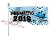 Cronulla Sharks 2016 NRL Premiers Pole Flag 180cm by 90cm
