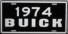 1974 BUICK METAL LICENSE PLATE RIVIERA WAGON ELECTRA LESABRE INVICTA SKYLARK GS