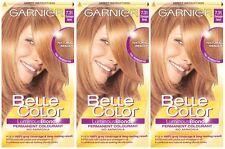 3 x Garnier Belle Color 7.31 Champagne Blonde - Permanent Hair Colourant Dye