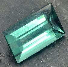 Tourmaline Indicolite Faceted Gemstone Turmalin Indigolith Edelstein 1,20ct