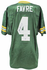 Packers Brett Favre Authentic Signed Green Authentic Wilson Jersey BAS #H92241