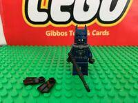 LEGO SCUBA BATMAN + gun & flippers minifigure DC COMICS SUPERHEROES set 76010