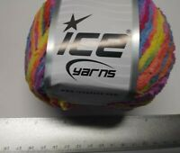 Ice Yarns DK Puffy Multicolor Yarn, 4 Skeins, Soft, Self-striping, Worsted