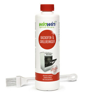 winwinCLEAN BACKOFENREINIGER 500ML AUCH MIT PINSEL (OPTIONAL) oder proWIN Pinsel