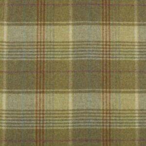 SALE PRICE - New Abraham Moon Huntingtower Hemp 100% wool fabric / tartan