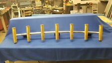 6 Pole Gold Fishing Rod Holder Rocket Launcher Hardtop Mount