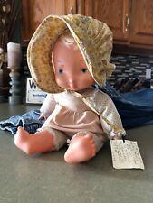 Vintage 1977 KNICKERBOCKER KTC DOLL Cloth Vinyl Baby Holly Hobby Original