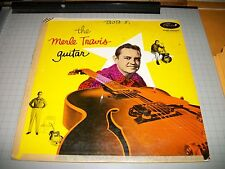 The Merle Travis Guitar Rare 1956 Capitol Records LP Sixteen Tons FAST SHIPPING