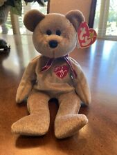 Ty Beanie Baby Bear Rare Signature 1999 Retired Original PVC Pellets Excellent