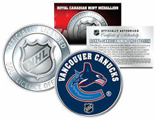 VANCOUVER CANUCKS Royal Canadian Mint Medallion NHL Colorized Coin * LICENSED *