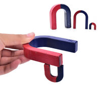 3 Size Traditional U Shaped Horseshoe Magnet Kid Toys Stocking Filler Party C xc