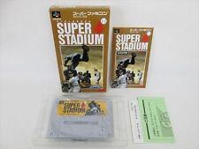 Super STADIUM Super Famicom Mint Condition Nintendo aba sf