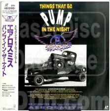 Aerosmith: Things That Go Pump in the Night (1990) Japanese Lazer Disc RARE