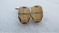 New Fashion Mask  Bamboo Wood  Cufflinks C