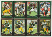 GREEN BAY PACKERS 2009 Bowman Team Set 8 Cards CLAY MATTHEWS RC Rodgers RAJI RC