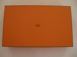 "Hermes Storage/Gift Box - 15.25"" x 9.375"" x 2.625"", New"