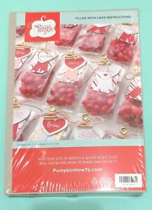 Stampin Up FILLED WITH LOVE Refill Paper Pumpkin Kit Valentine Treat Bags Crafts