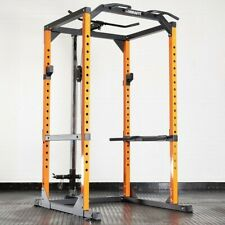 MIRAFIT M2 360KG POWER RACK with CABLE PULLEY SYSTEM Squat Cage multi home gym